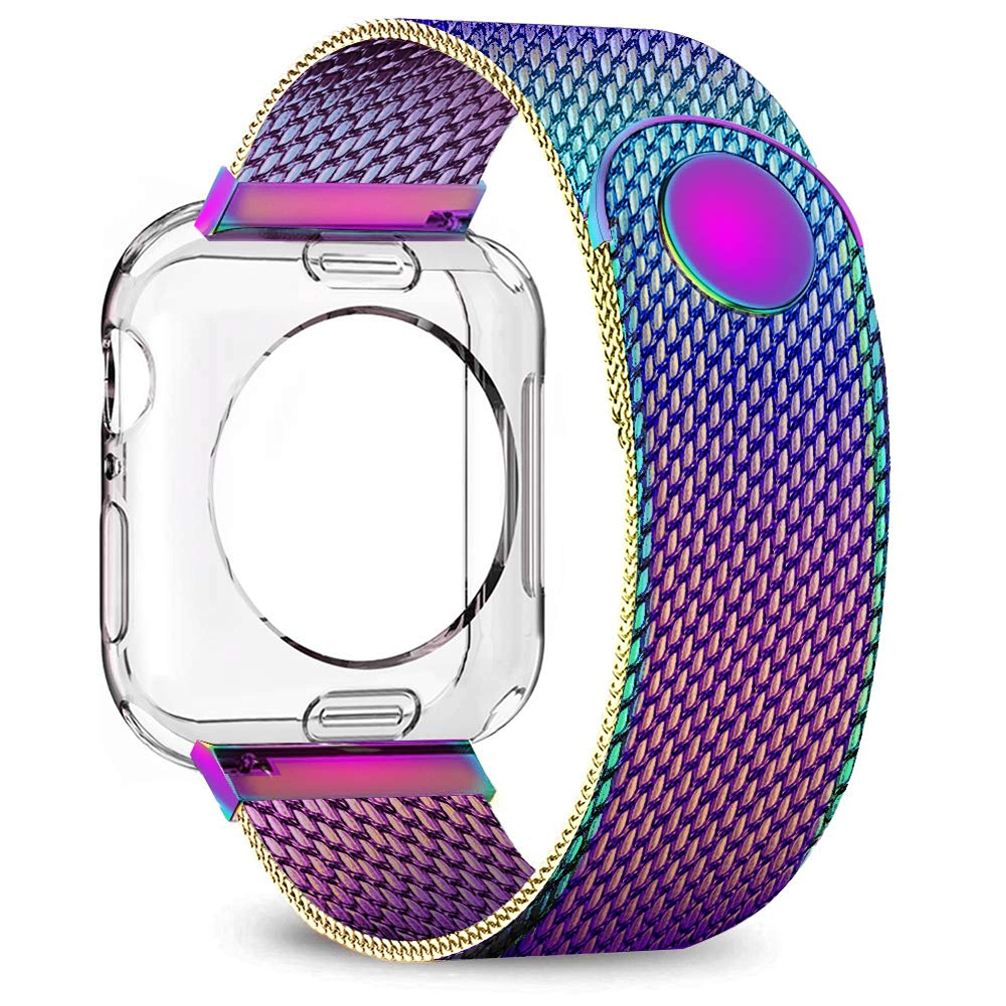 Adjustable Watch Band With Shell Protector
