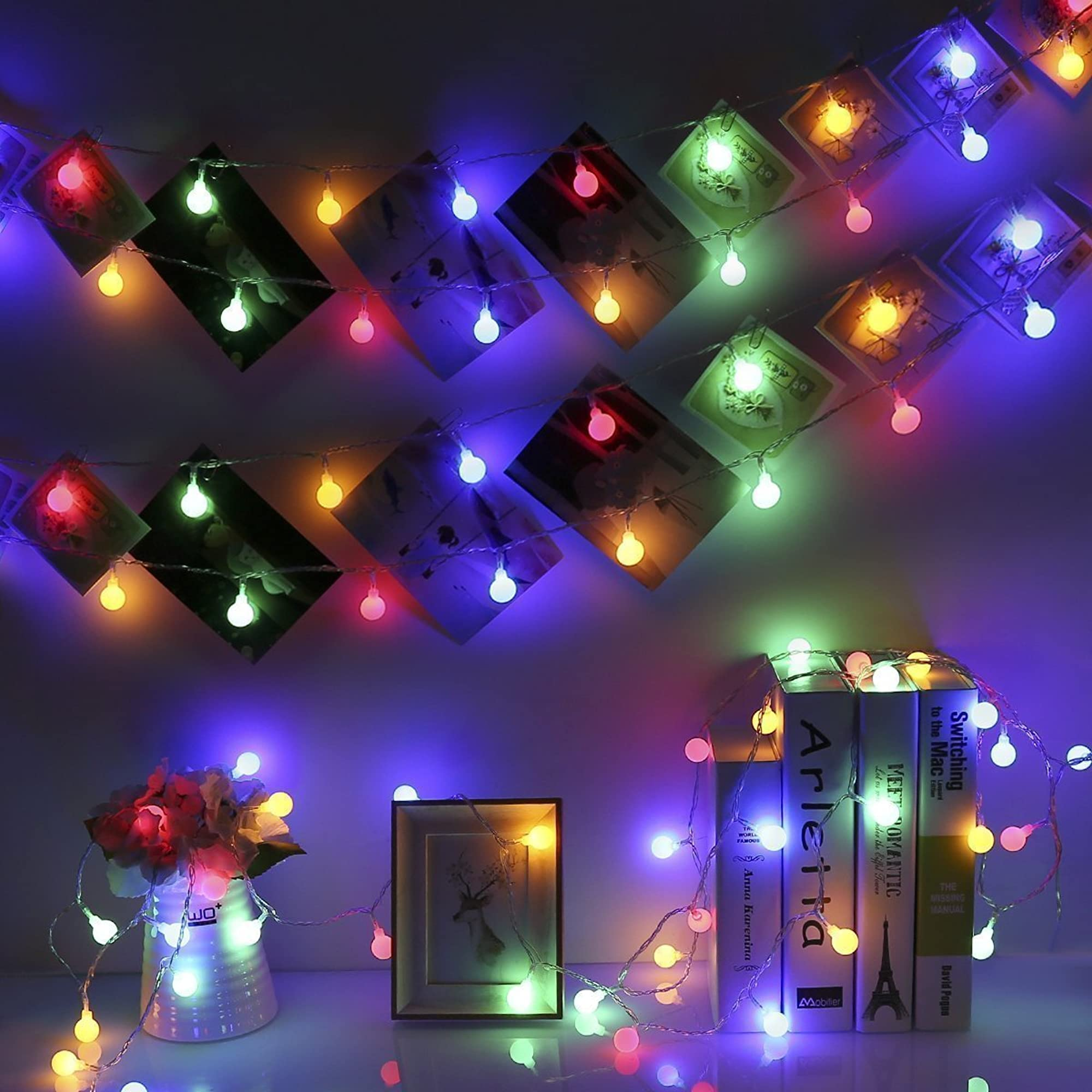 Battery Operated Fairy Lights With Remote