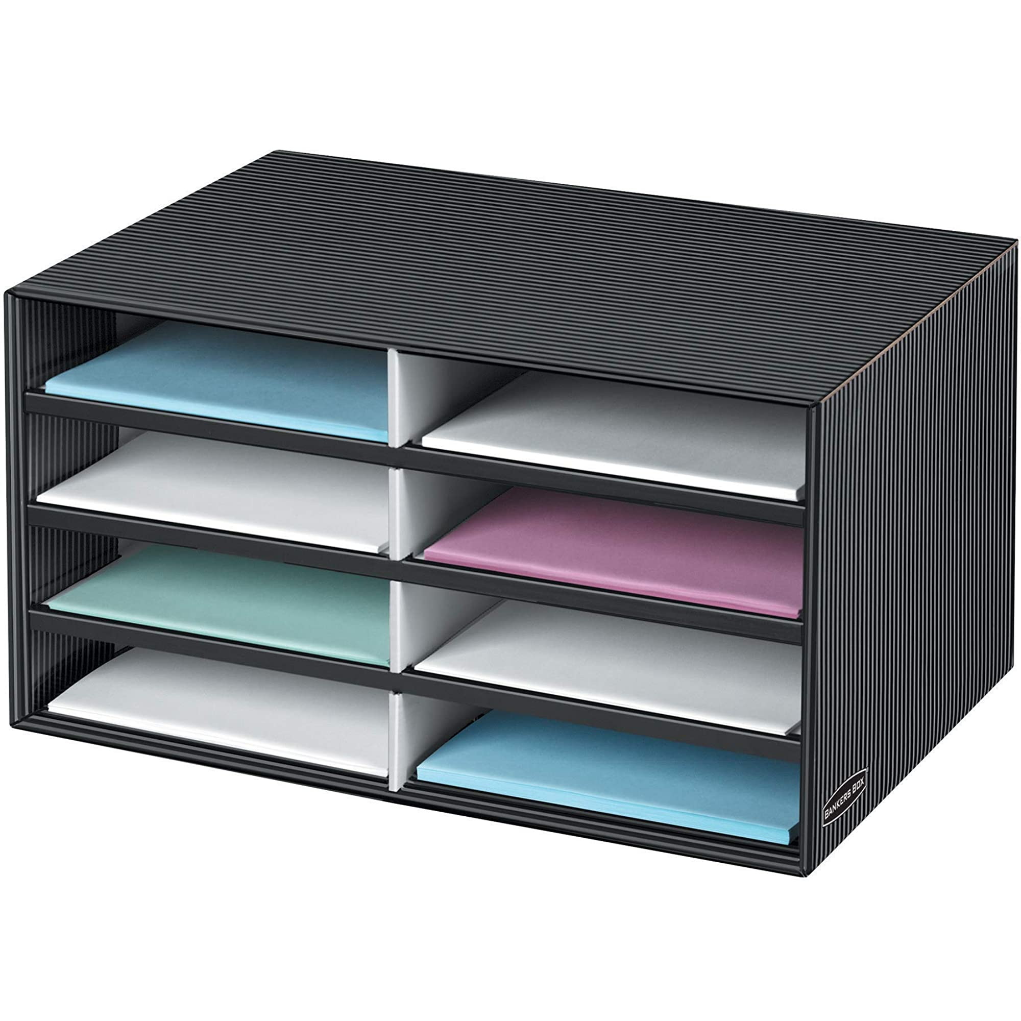 Eight Compartment Shelf Organizer