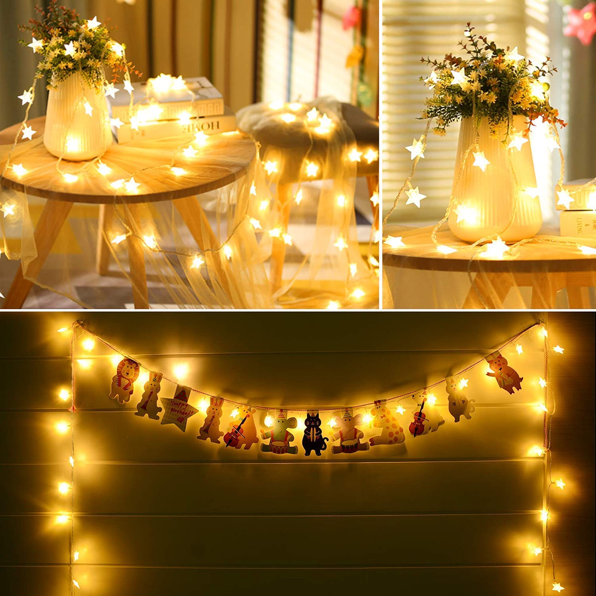 Battery Operated Globe String Lights