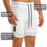 Shorts With Zipper Pockets For Men
