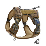 Tactical, Adjustable, No Pull Dog Harness