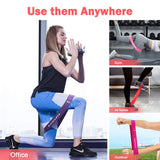 "Resistance Exercise Bands For Home Fitness 12"" X 2"""
