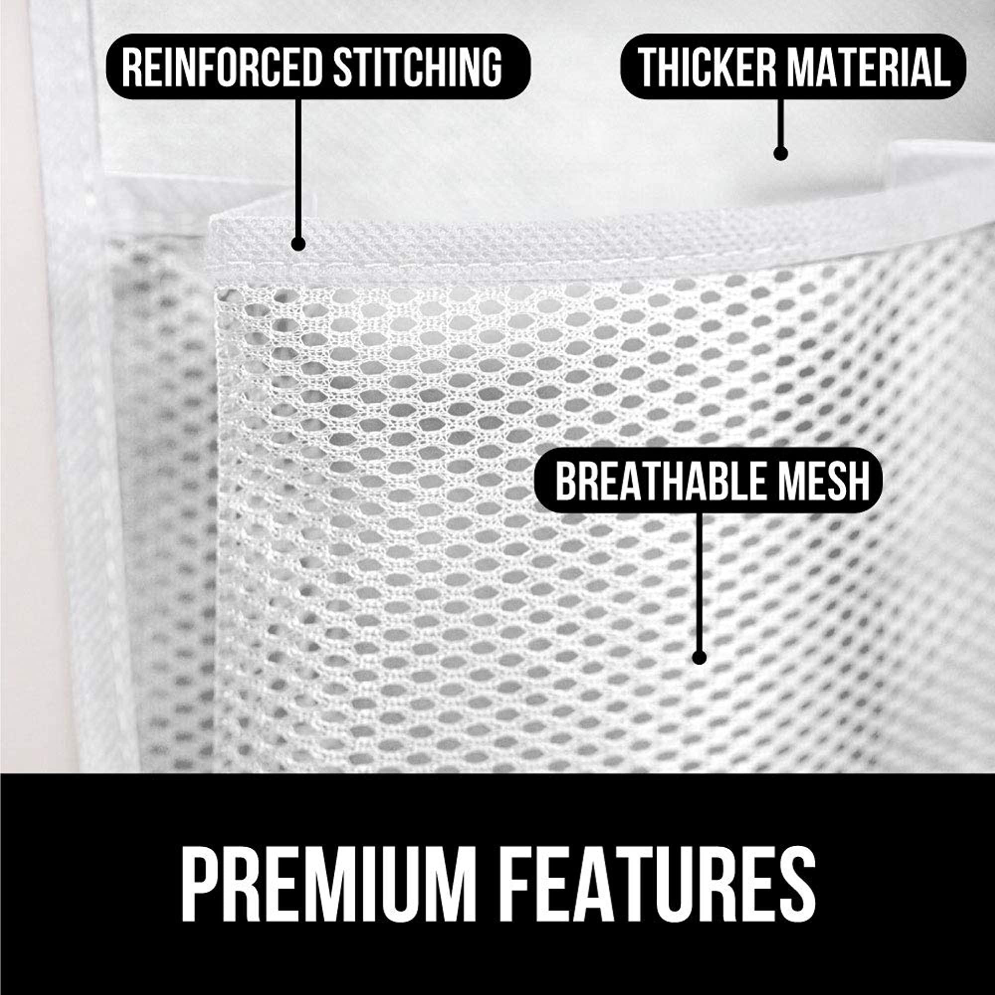 Breathable Mesh Pocket Stores Shoes