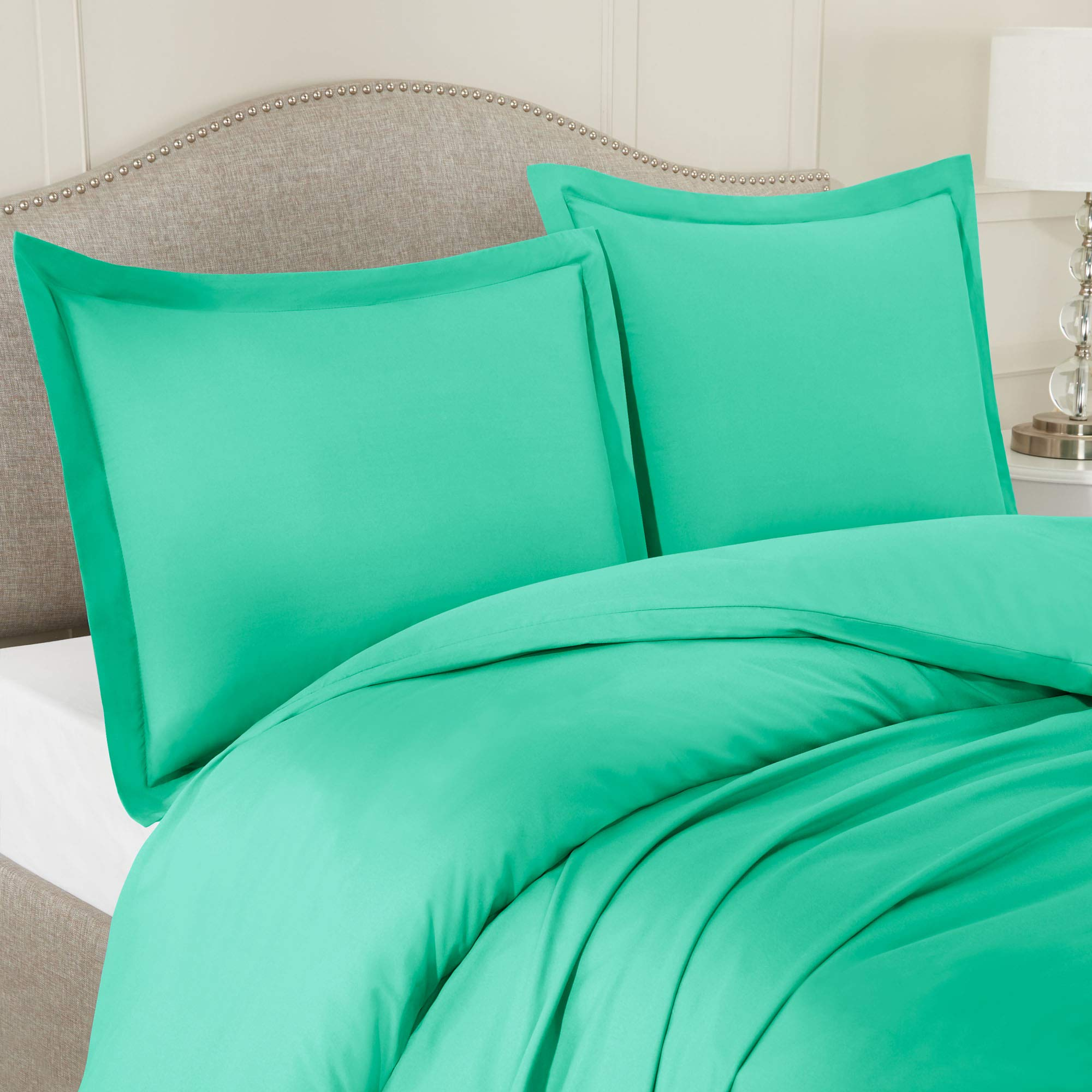 Ultra-Soft Double Brushed Microfiber Duvet Cover