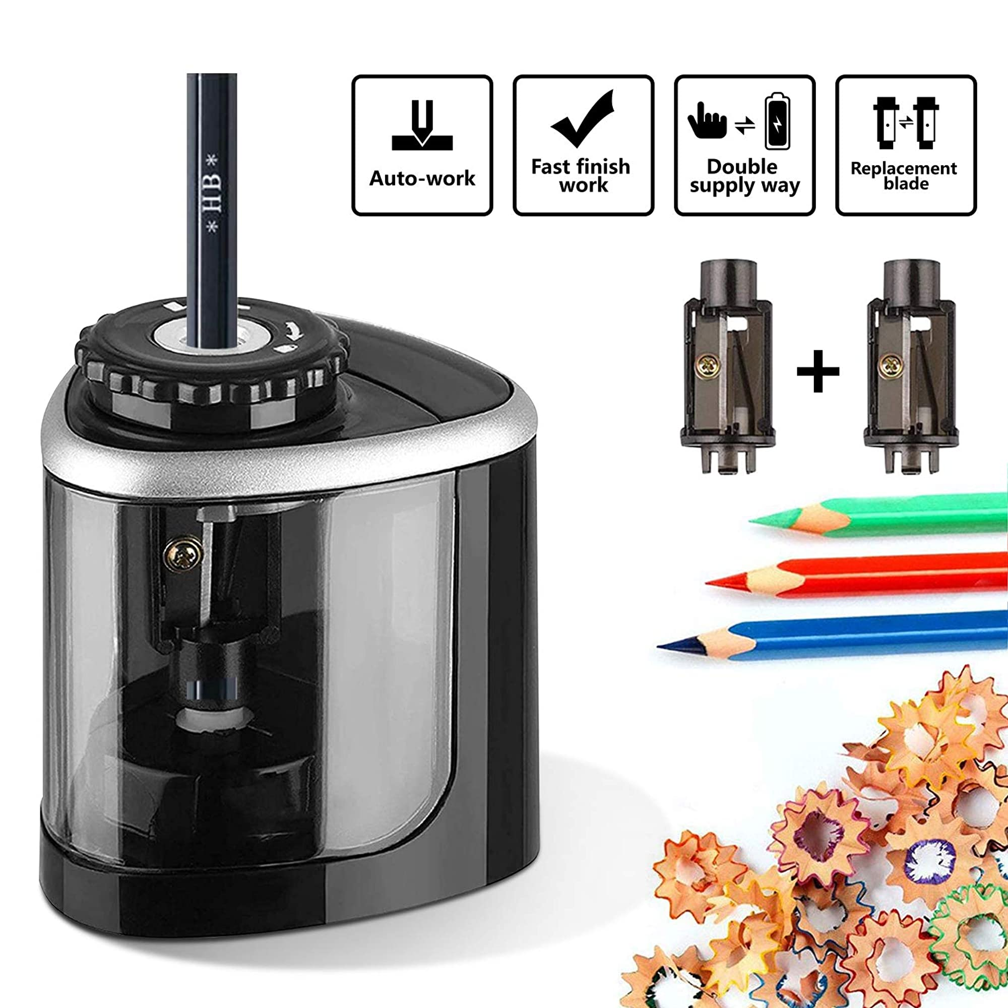 Portable Electric Pencil Sharpener