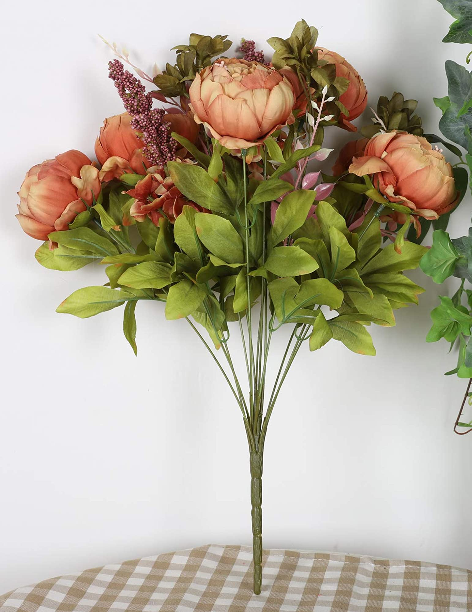 Artificial Peony Silk Fake Flowers
