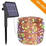 Copper Wire Solar Powered Fairy Lights