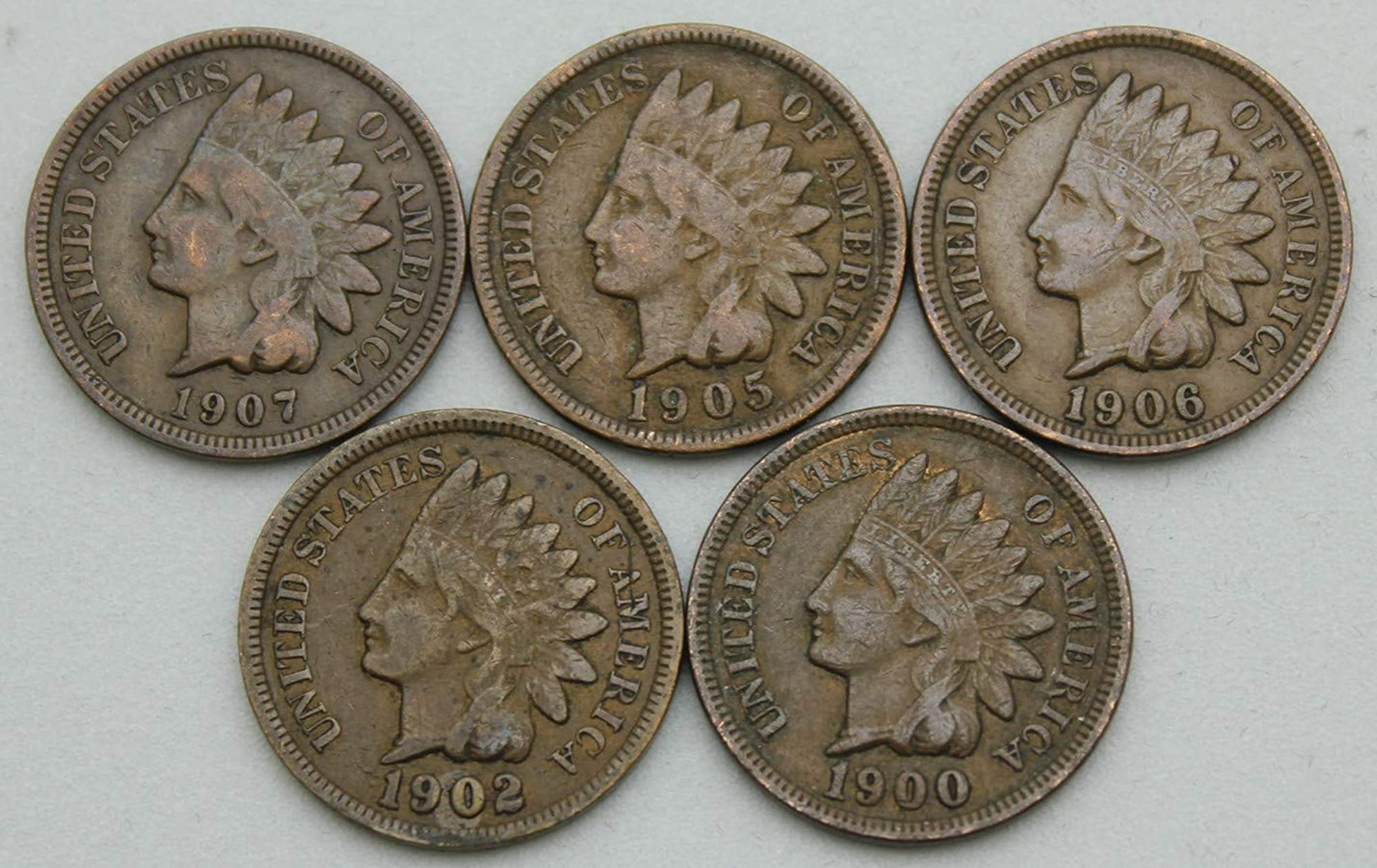 Vintage Indian Head Cents Collection Kit