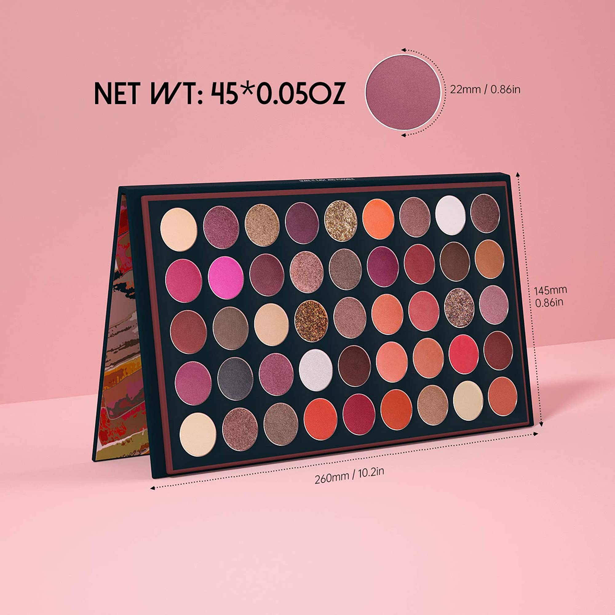 Matte Eyeshadow Palette Shades
