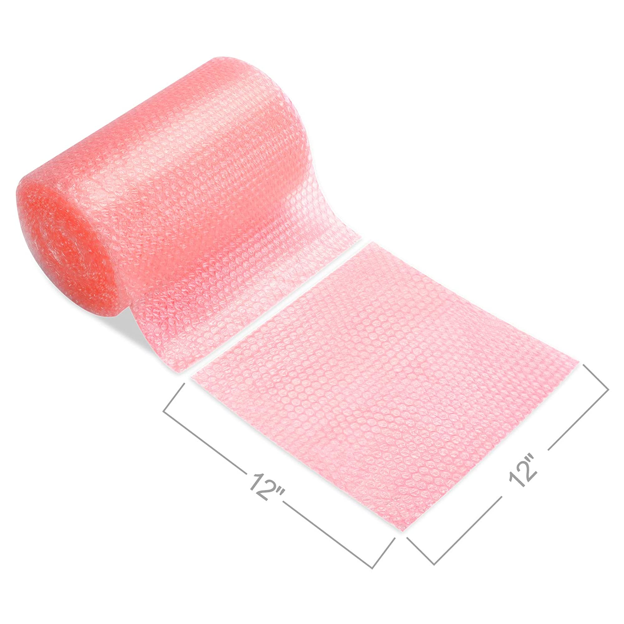 Baby Pink Anti-Static Bubble Wrap