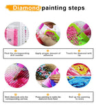 Home Wall Decor Gem Art Crafts