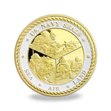 Us Navy Seal'S Coin - Military Challenge Coin