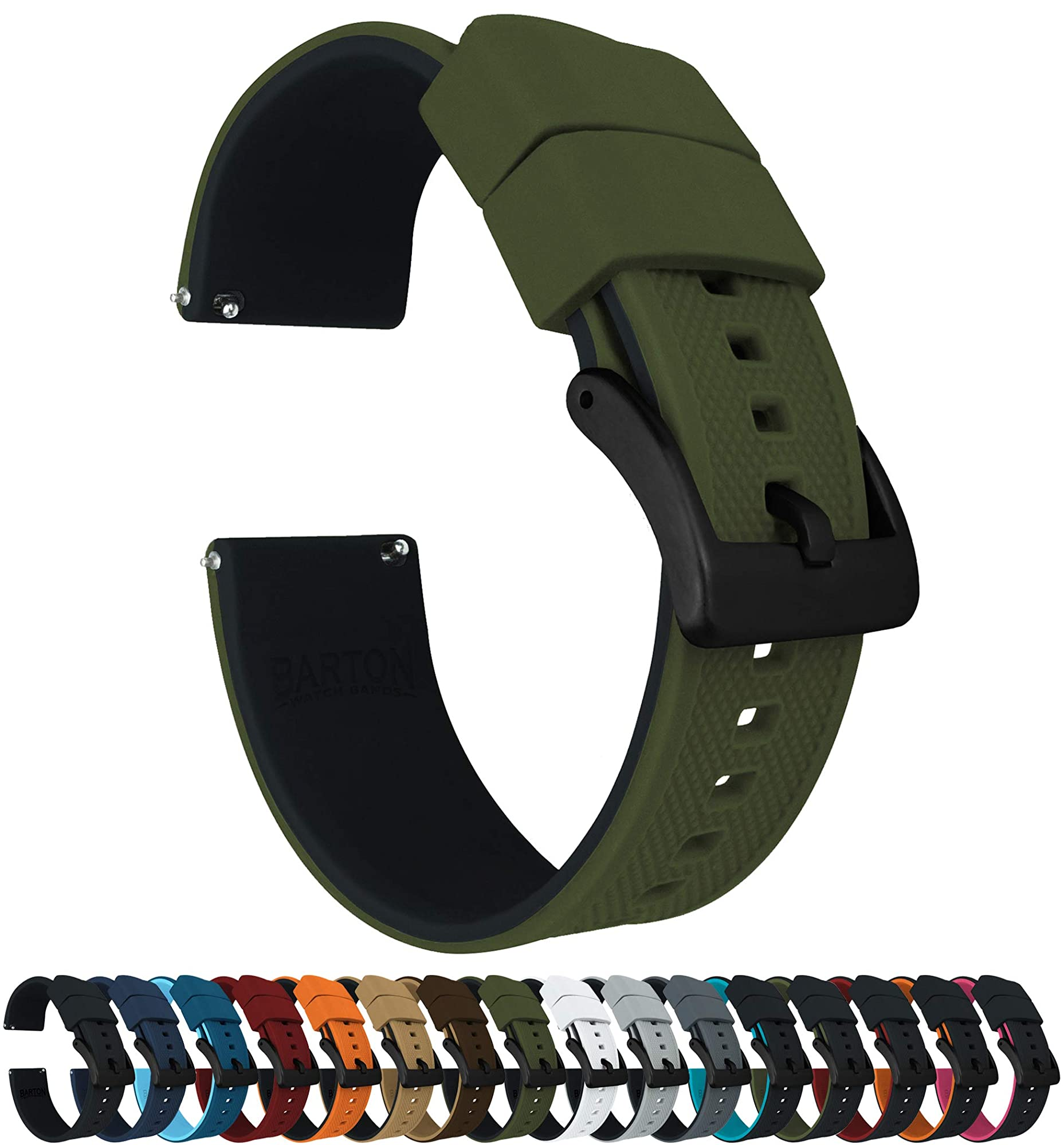 Durable Elite Silicone Watch Bands