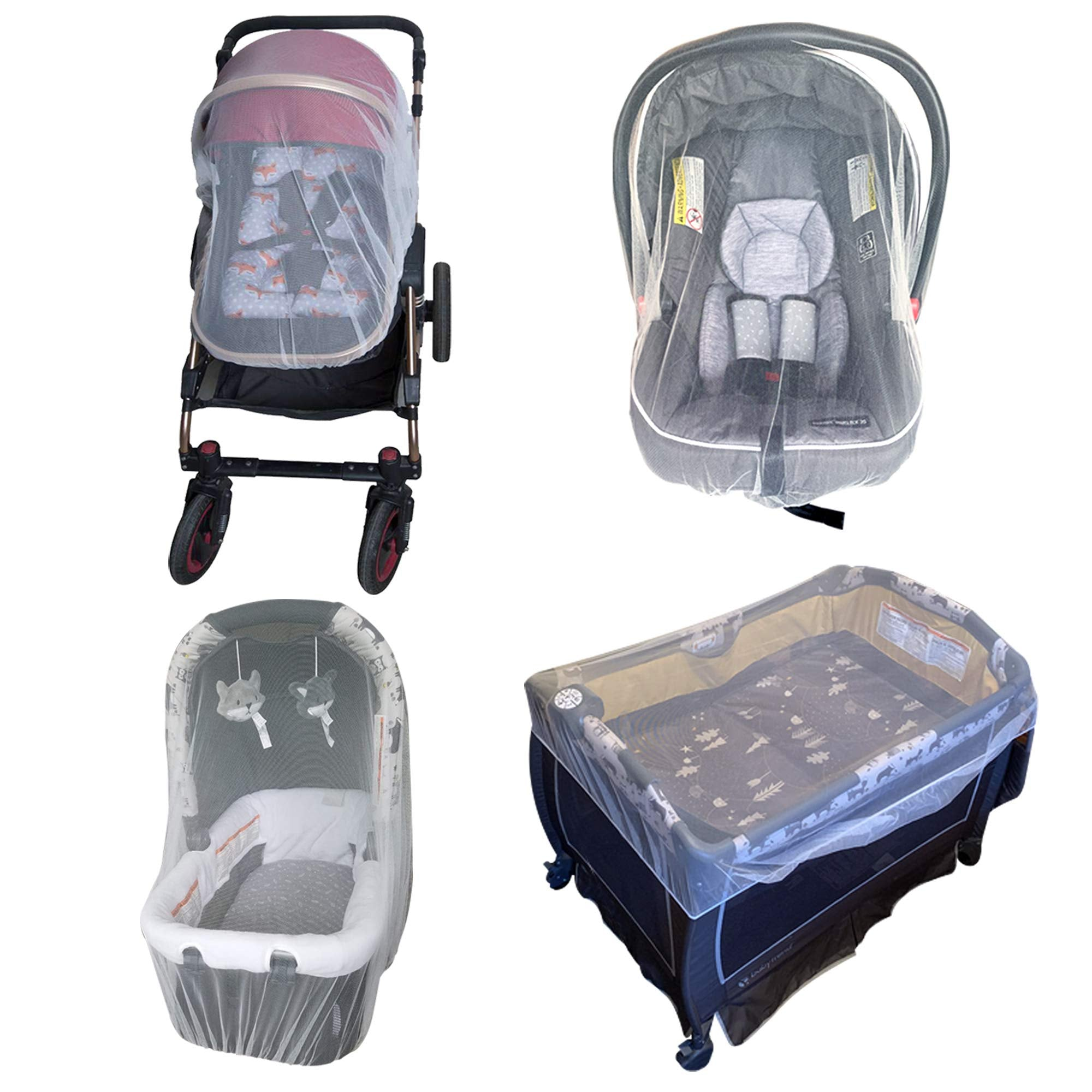 Universal Durable Mosquito Net For Strollers, Cradles, And Cribs