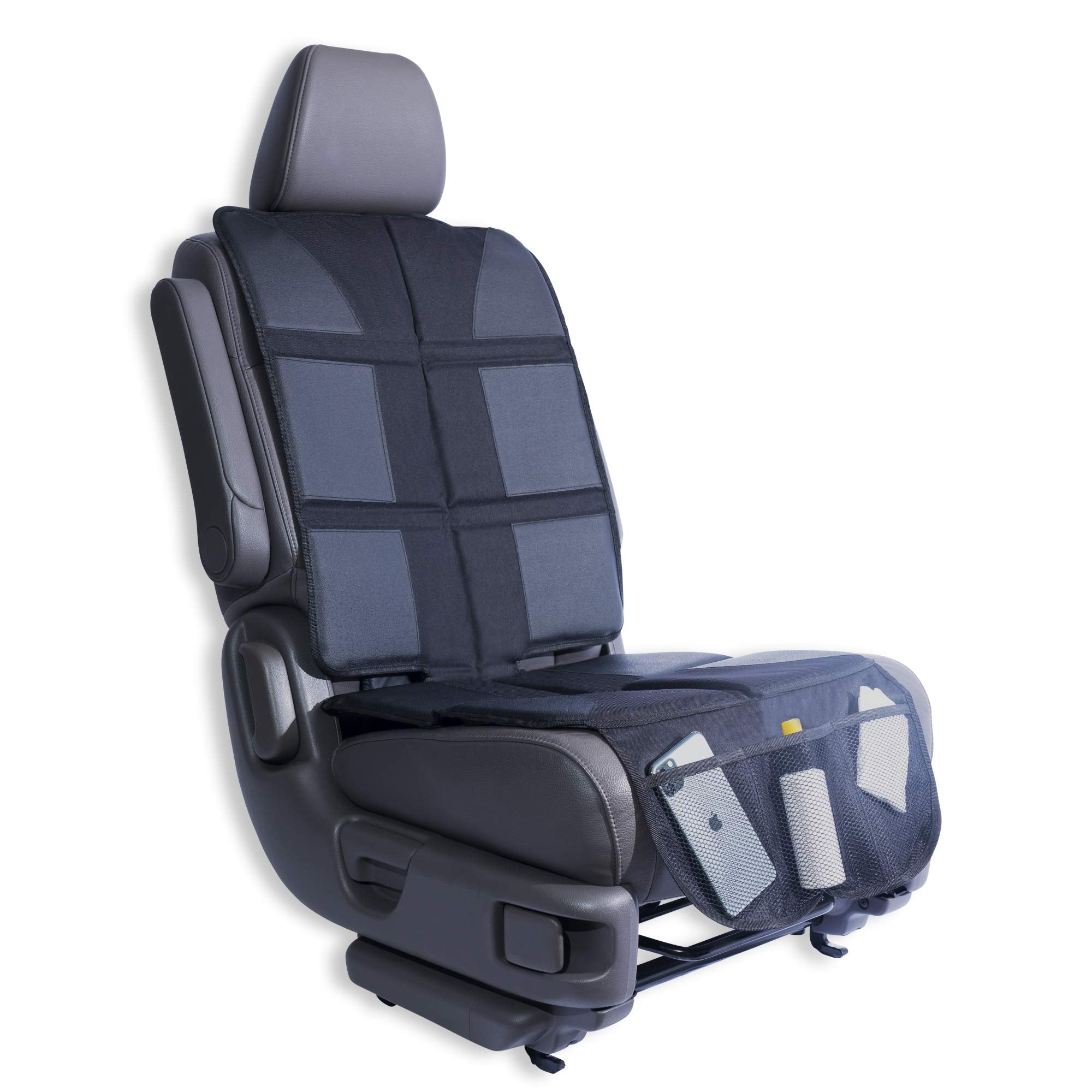 Car Seat Protector With Two Huge Pockets