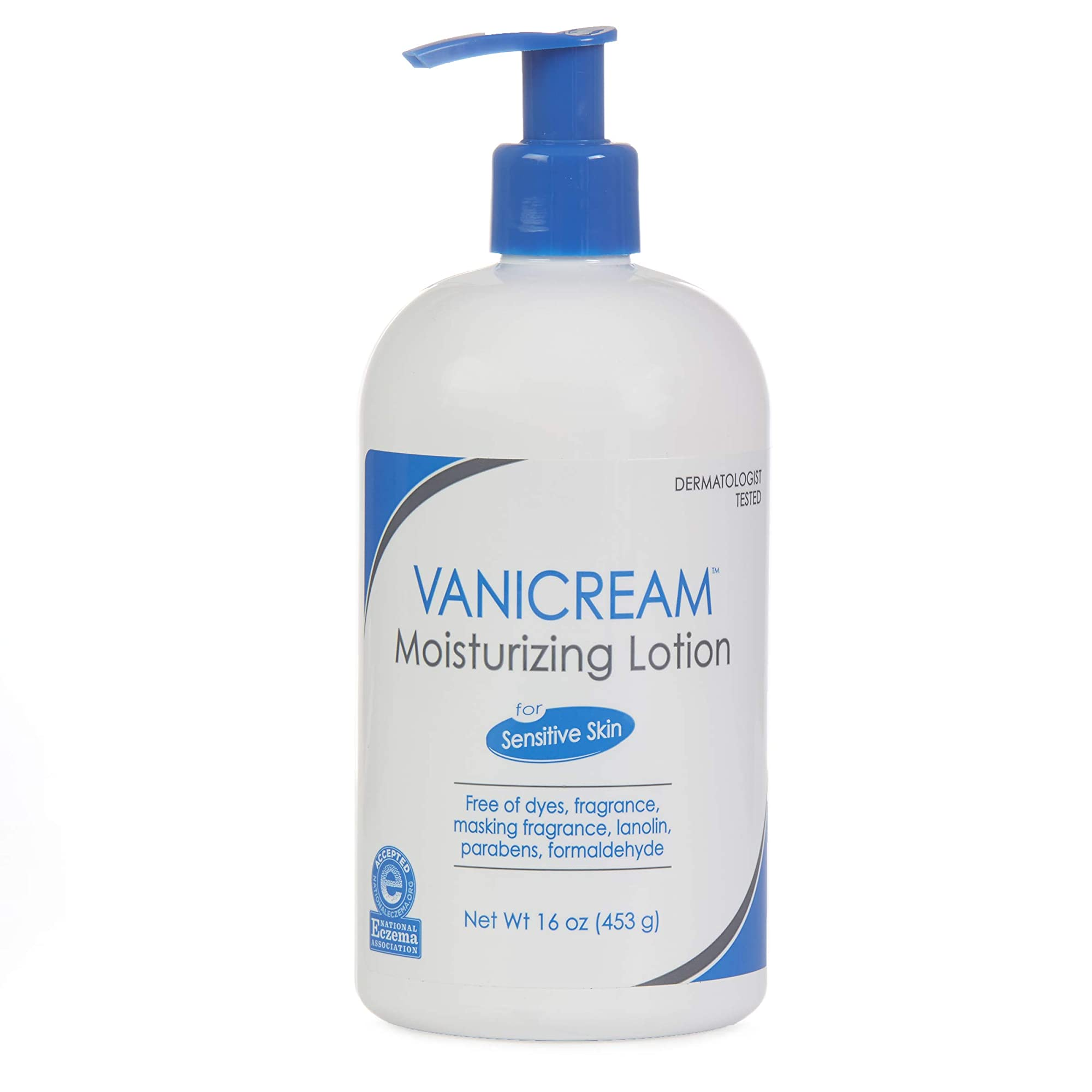 Lotion With Pump For Sensitive Skin