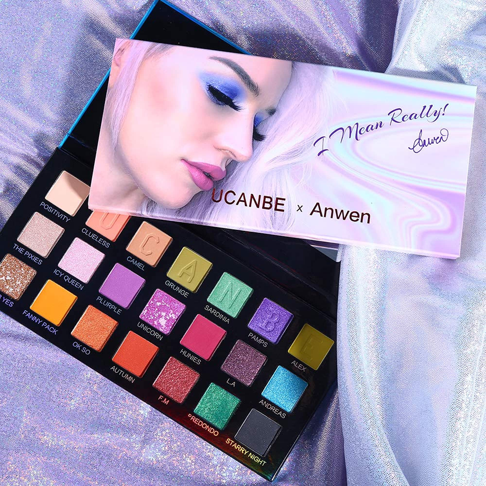 Colors Makeup Eyeshadow Palette