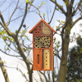 Wooden Insect House For Ladybugs And Butterflies