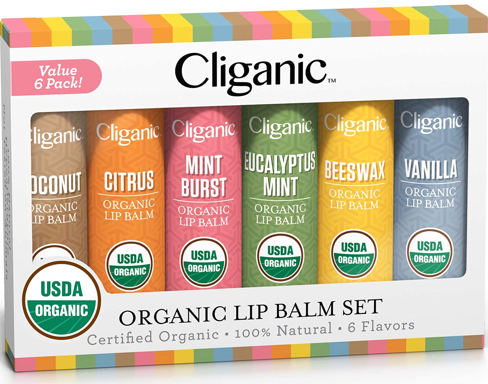 Natural Lip Balm For Men & Women