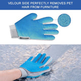 Pet Hair Remover Glove - Perfect For Dogs & Cats