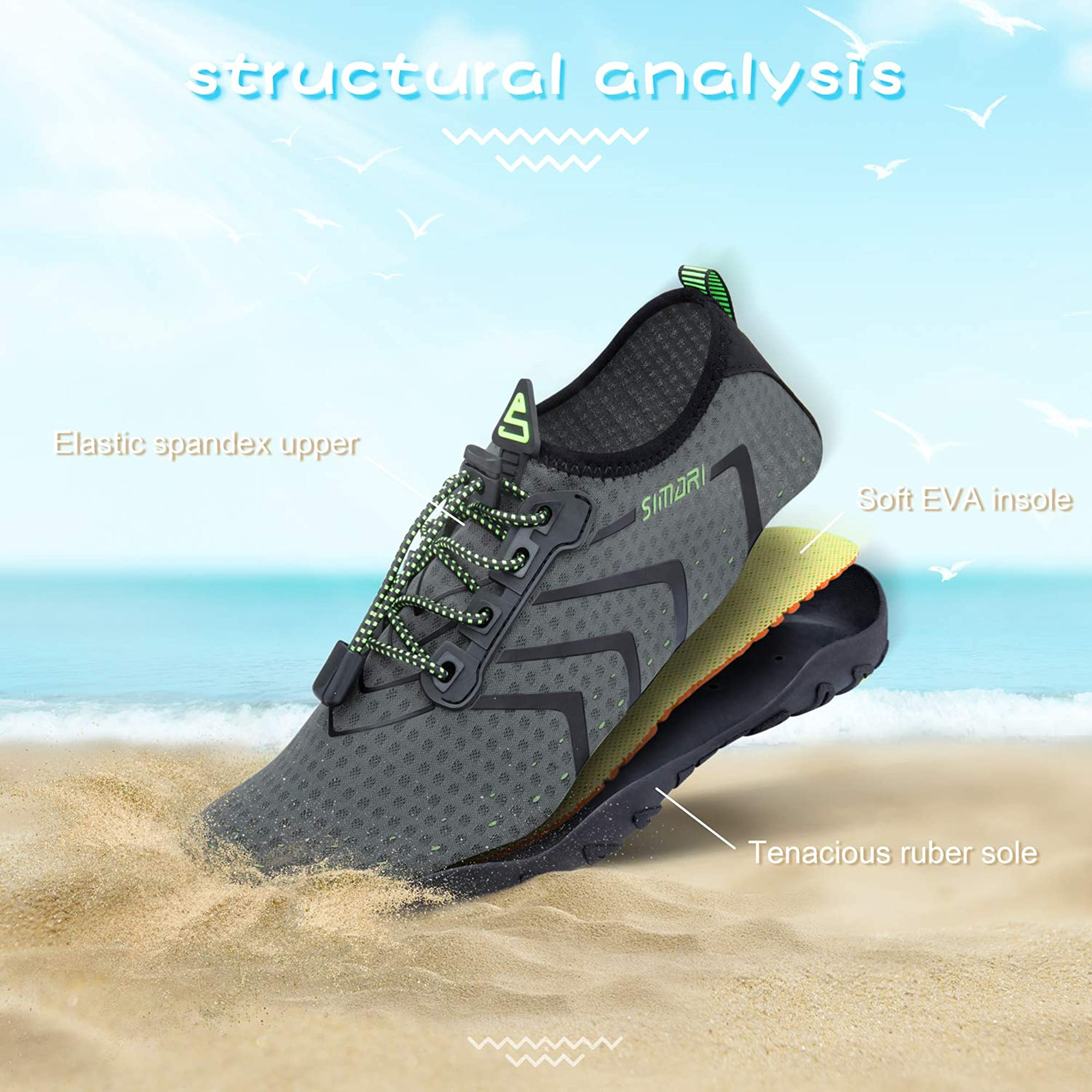 Durable Water Sports Shoes For Men