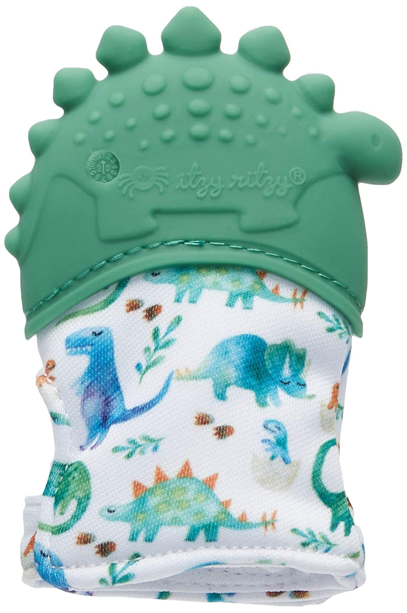 Silicone Teething Mitt ?? Soothing Infant Teething Mitten With Adjustable Strap