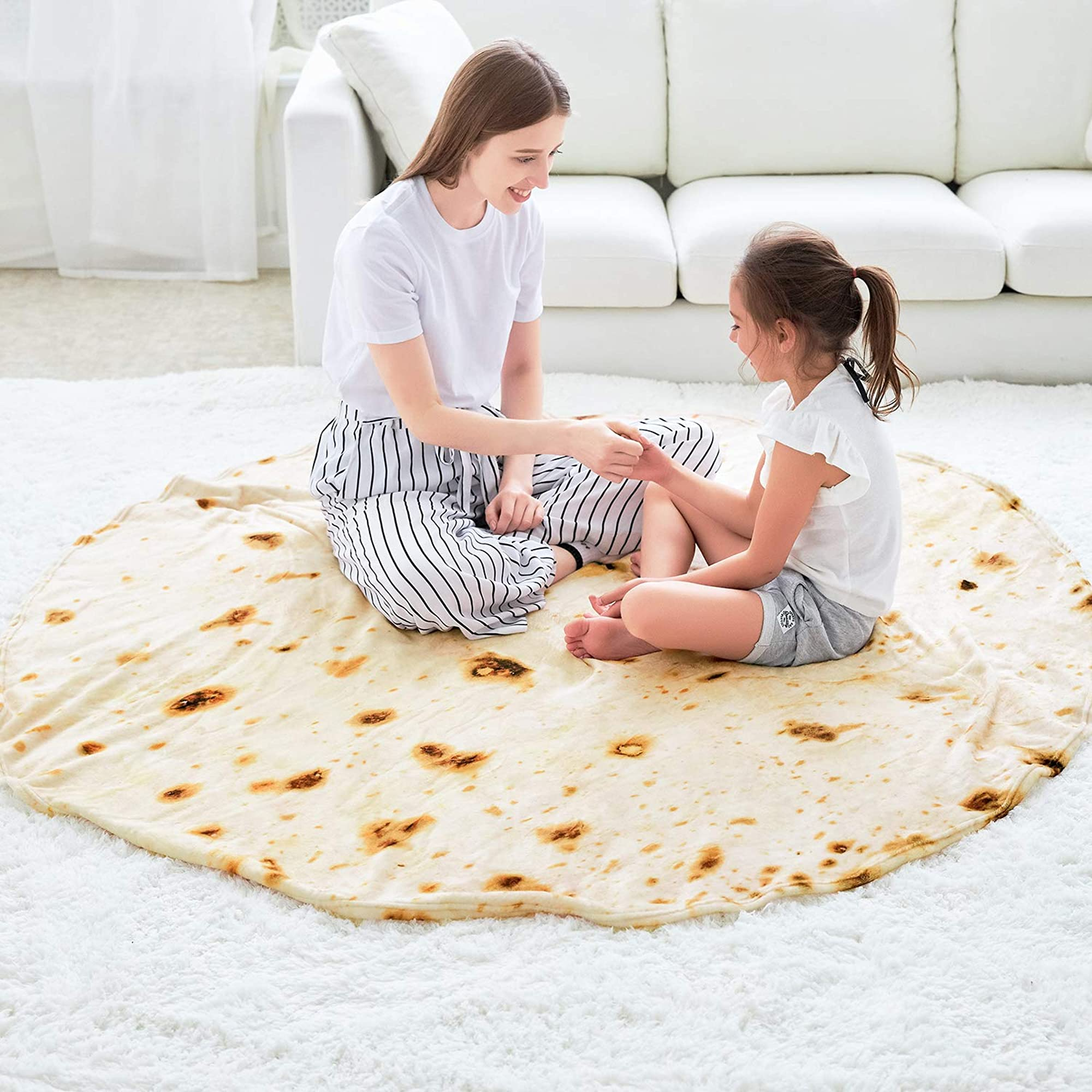 Burritos Tortilla Beach Blanket