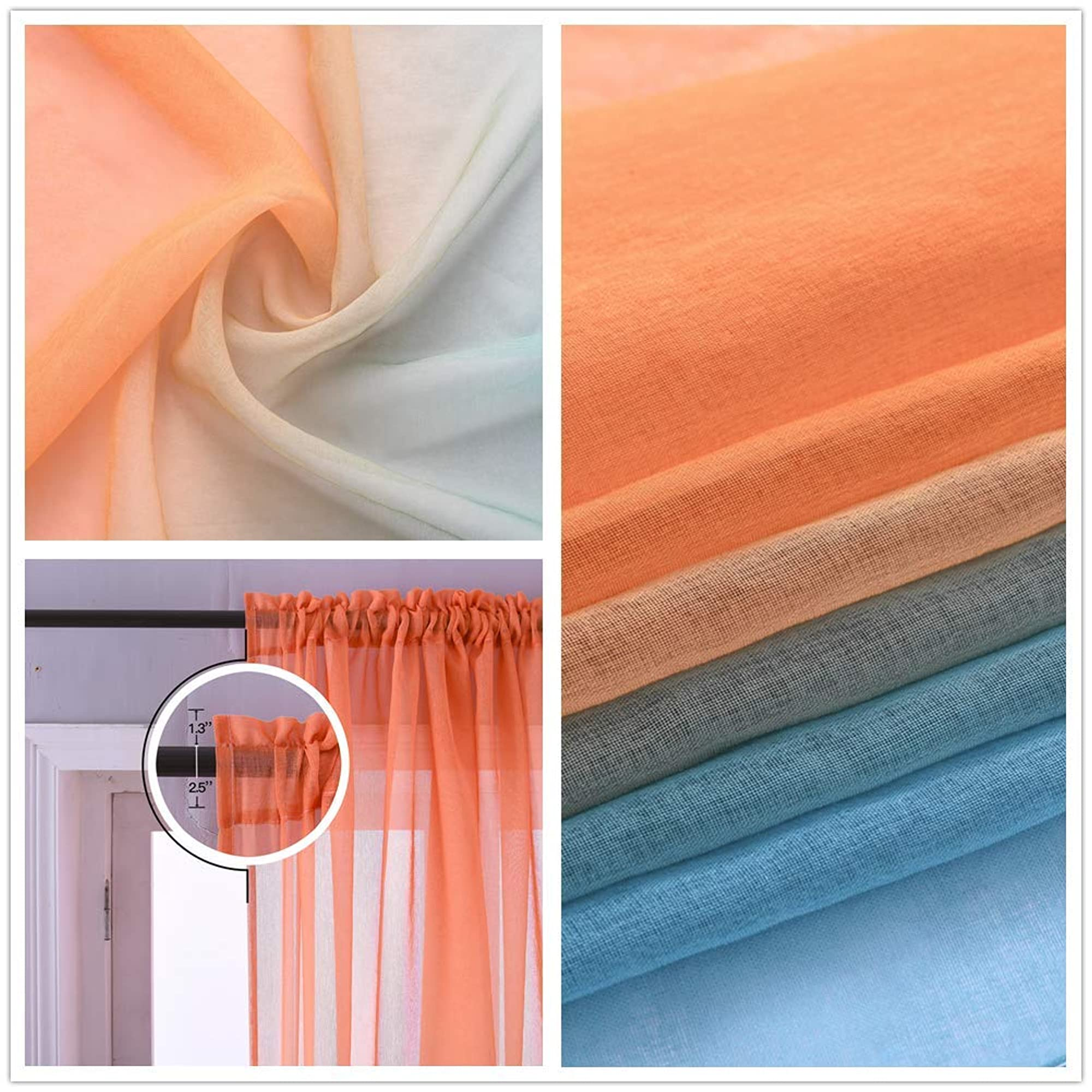 Reversible Curtains For Home Decoration