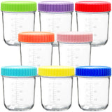 Glass Baby Food Storage Containers With Airtight Lids