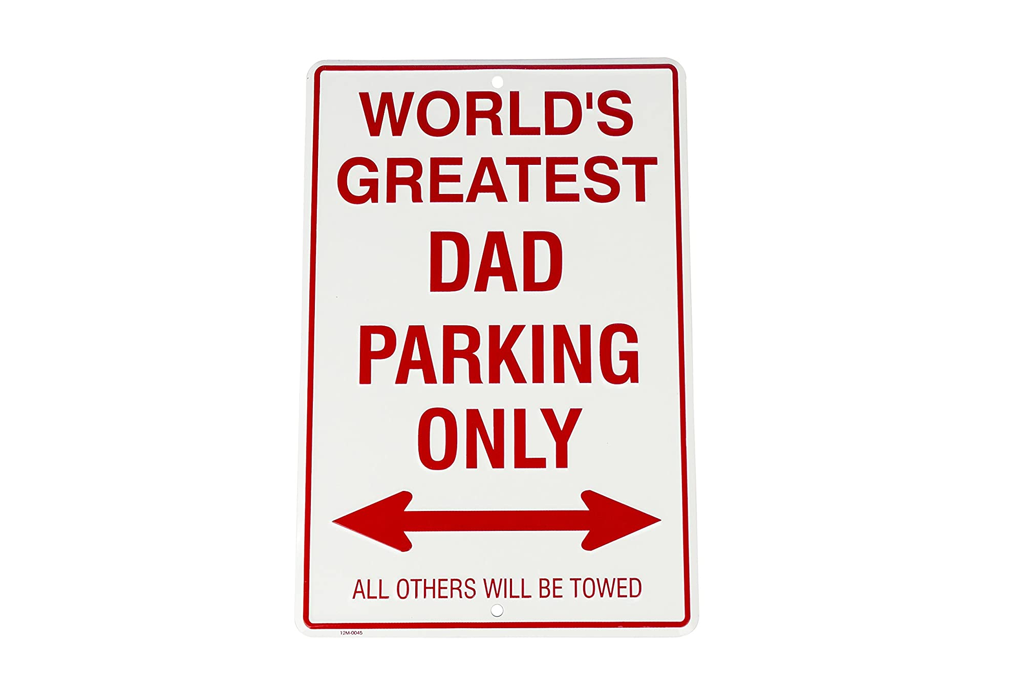 Embossed Metal Small Parking Sign