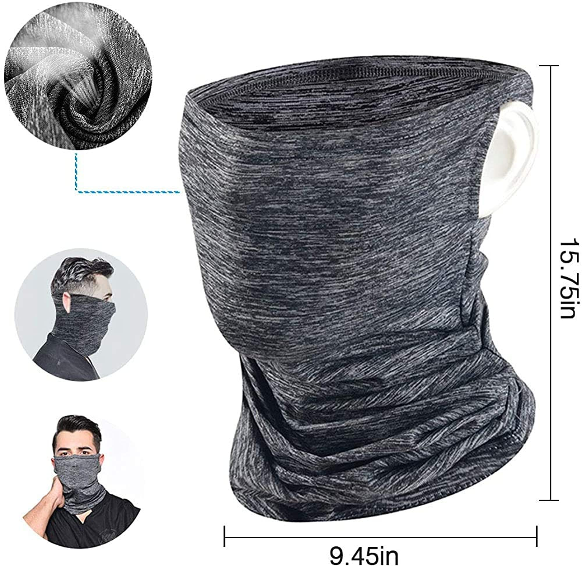 Uv Protection Balaclava/Neck Gaiter/Face Bandana