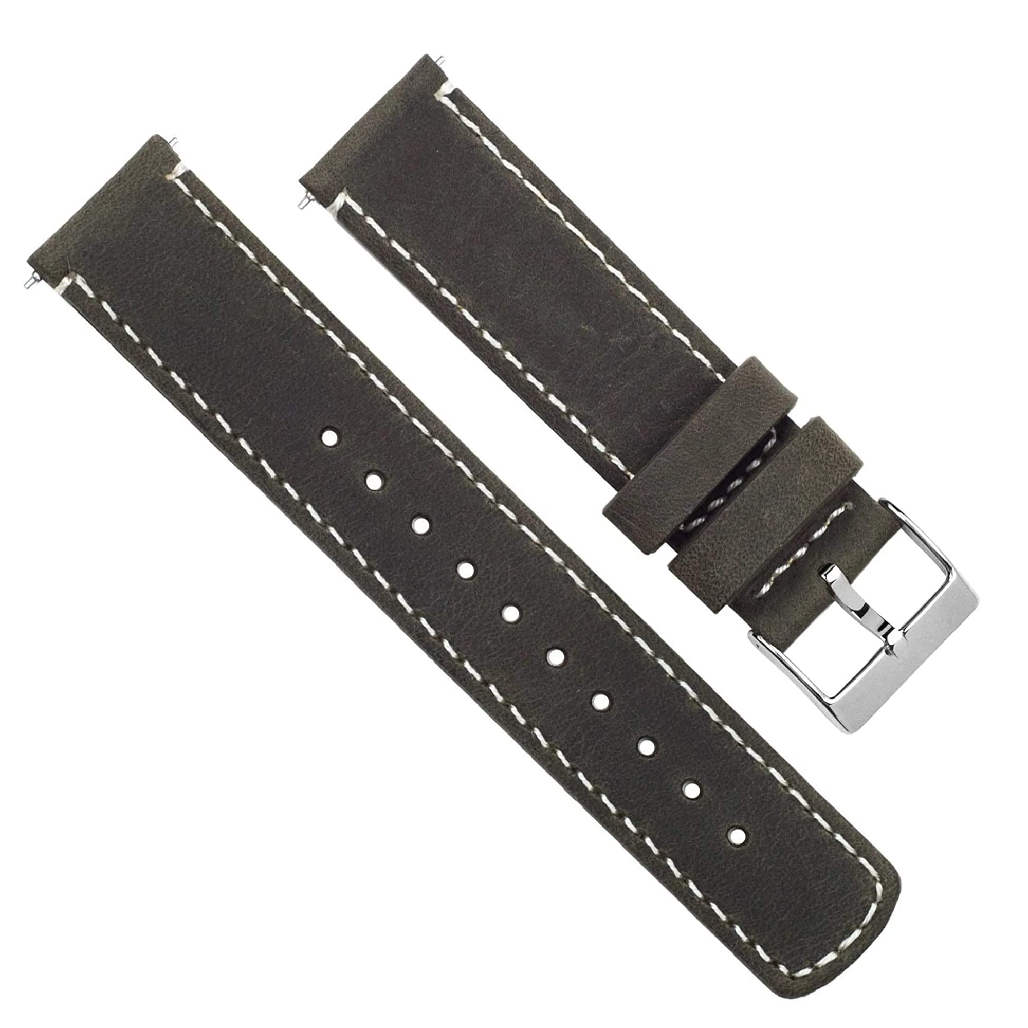 Unisex Leather Bands With Lining For Watches