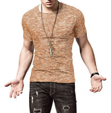 Casual T-Shirts For Men With Short Sleeve