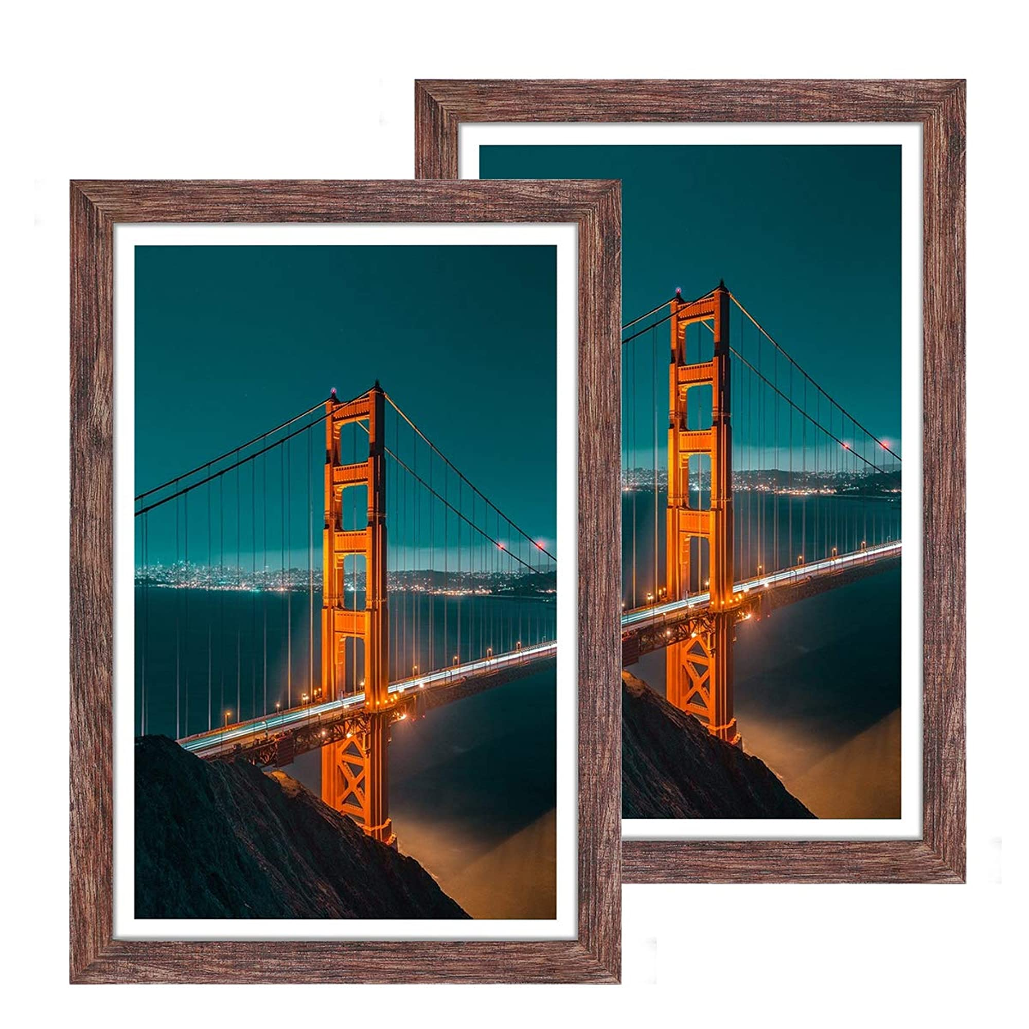 Wall Hanging Wood Picture Frame