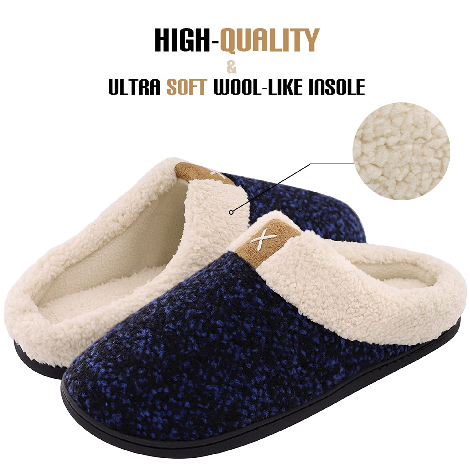 Memory Foam Casual Slip-On For Men