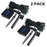 Waterproof Solar String Lights For Outdoor Decoration
