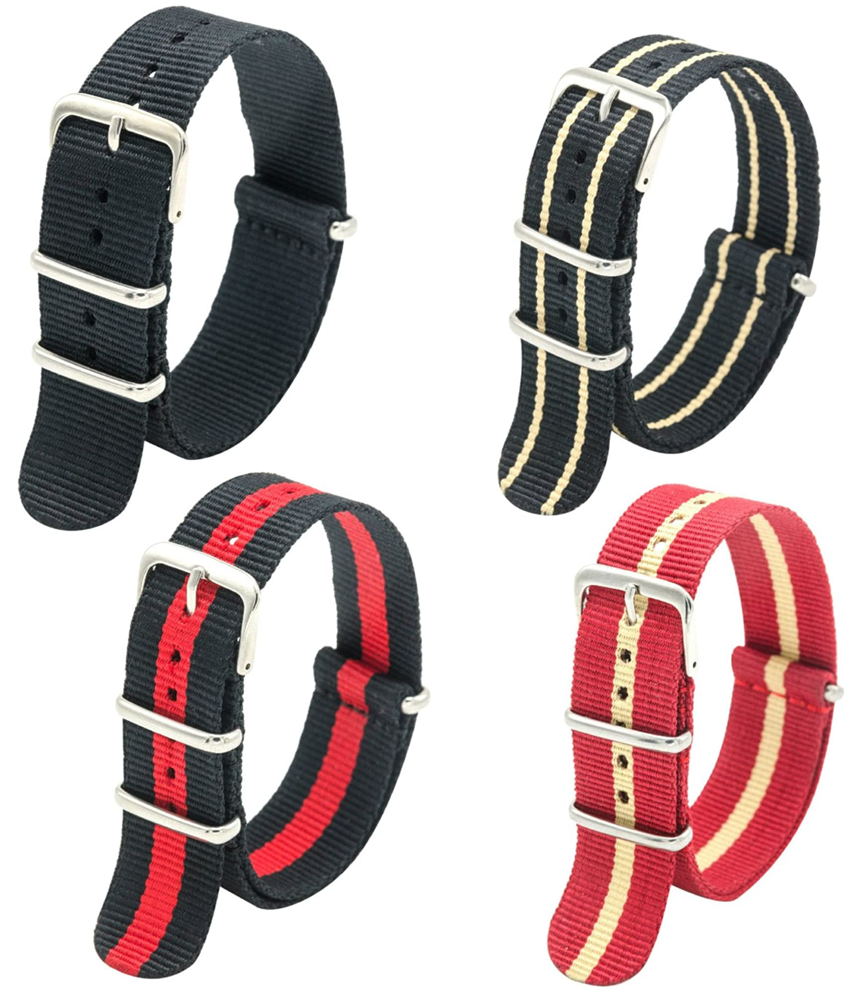 Watch Strap Combo For Men And Women