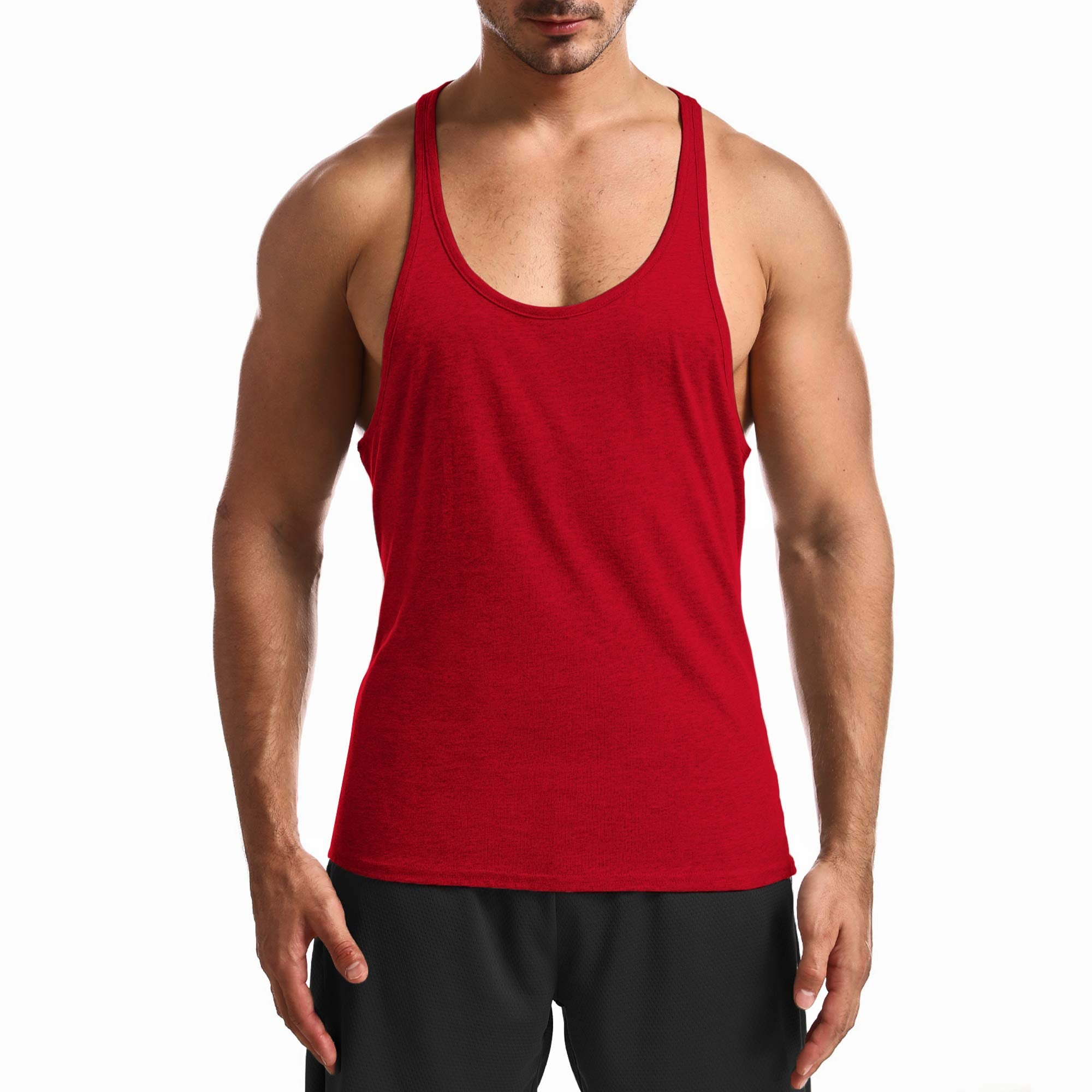 Racerback Workout Tank Top For Men