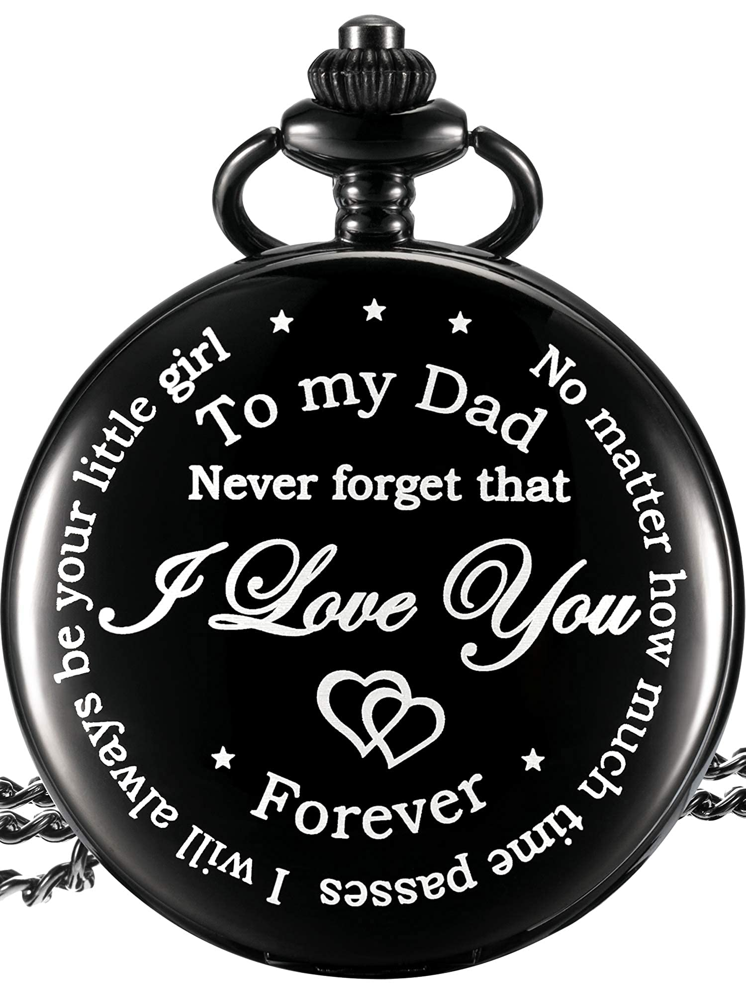 Personalized Pocket Watch For Dad