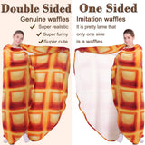 Double-Sided Burritos Tortilla Blanket