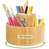 Rotating Art Supply Desk Organizer