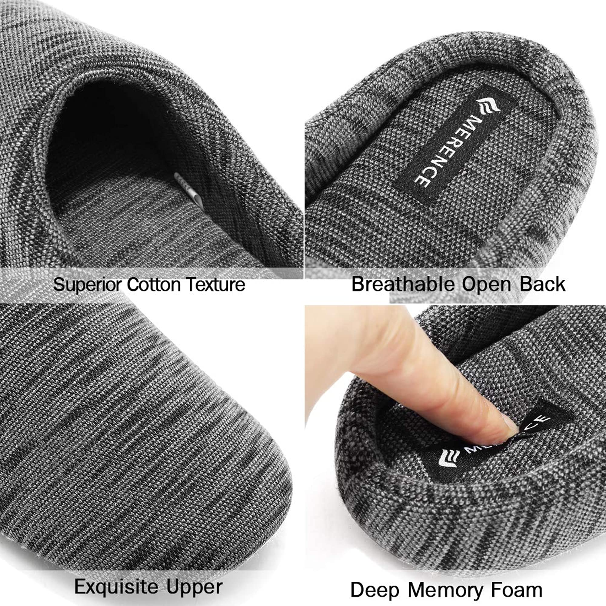 Comfortable Memory Foam Slippers