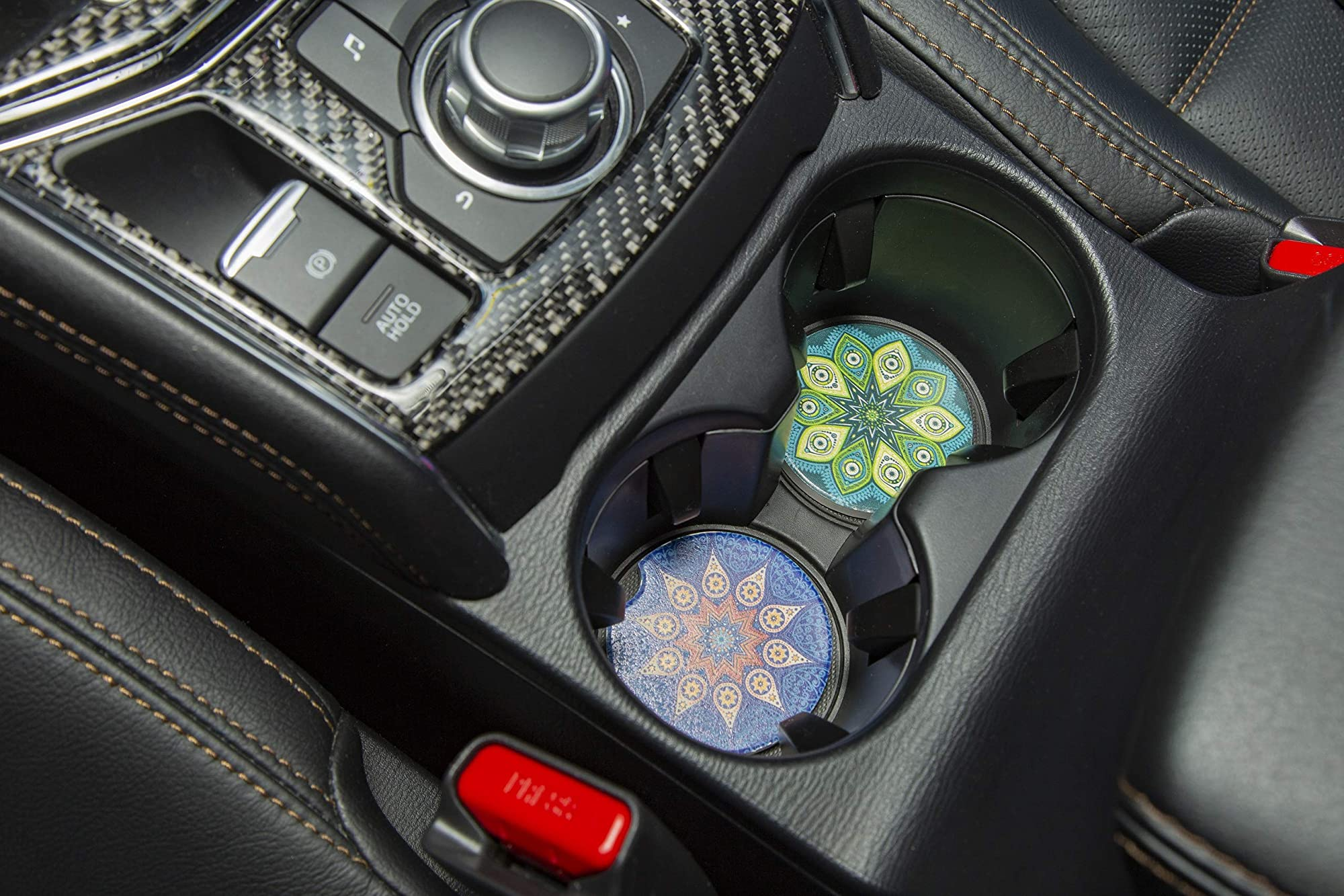 Removal Car Cup Holder Coasters