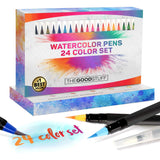 Watercolor Brush Art Pens Set