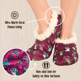 Fuzzy Feet Outdoor Slippers For Women