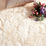Fluffy Shag Area Rugs For Bedroom