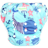 Baby & Toddler One Size Adjustable Reusable Swim Diaper