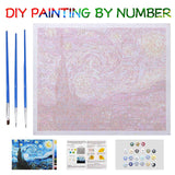 Diy Canvas Oil Painting Kit For Kids & Adults