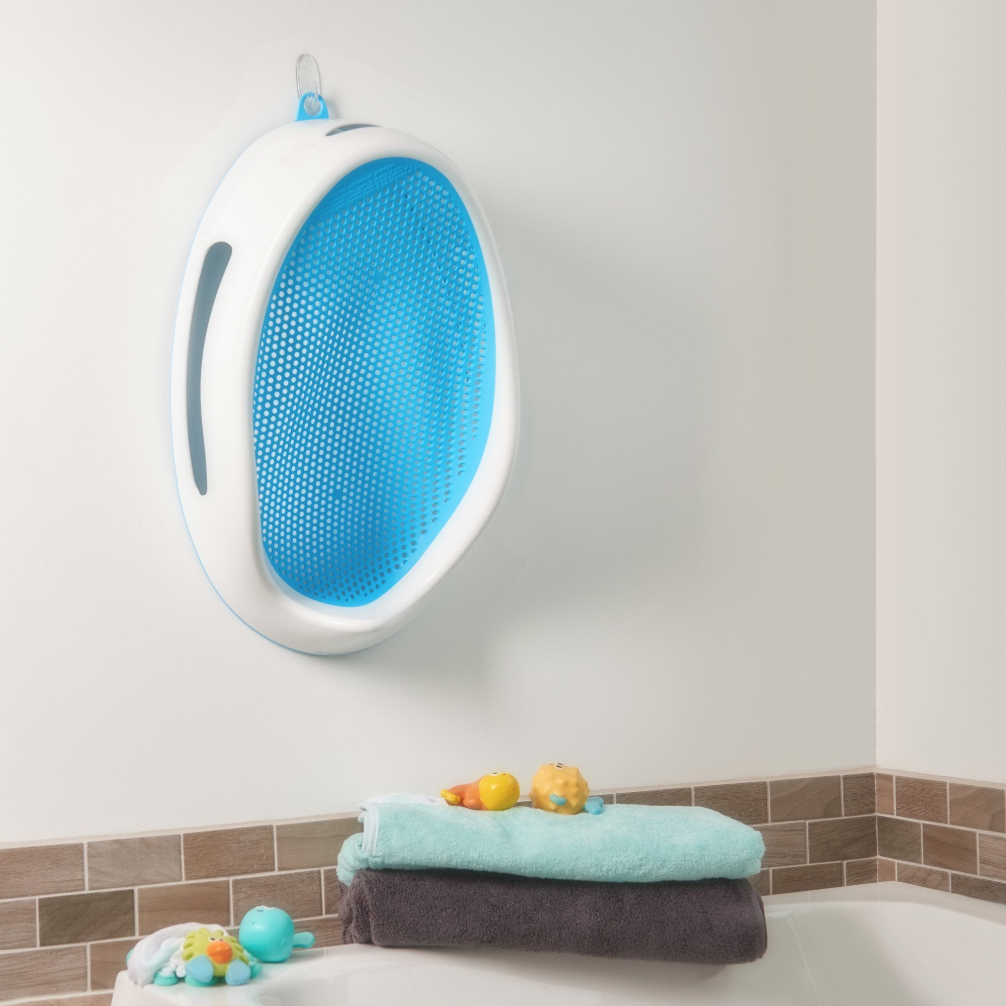 Baby Bath Support - Ergonomic Design With Soft Mesh